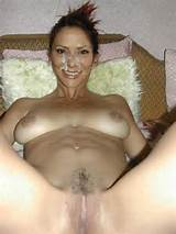 constance marie shows pussy