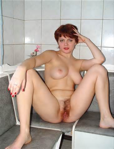 Redhead Fatty Show Red Hairy Cunt 7