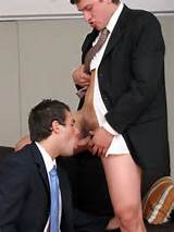 Young Hunks Next Door Sucking And Fucking In Their Suits And Ties