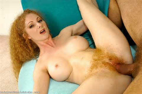 ... Annie Body getting fucked her red bush pussy from Hairy natural chicks