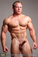Hairy Blonde Muscle Stud Ben Kieren Muscled Boners Hot Muscle Men