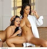 ... gallery/163/167/bustyones.com/licking-boobs/two-classy-brunette-girls
