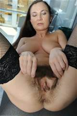 Saggy tit milf Svetlana shows her hairy pussy from ATK Natural and ...