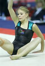 Hot teens gymnasts candid voyeur