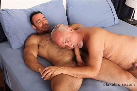 Hairy Gay Porn Star Brad Kalvo Fucks Mature Silver Daddy Jake Cruise